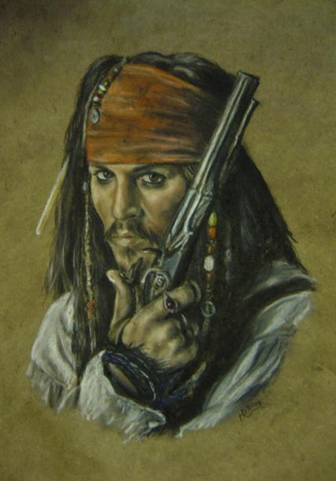 Johnny Depp by HEXEnART